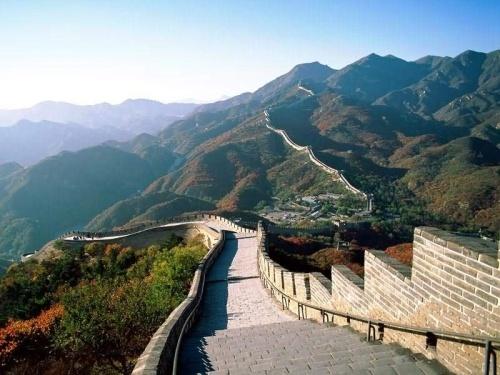 Foto de la Gran Muralla China en la ciudad de Badaling