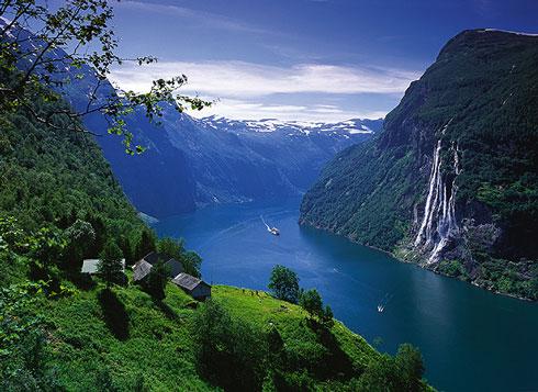 Foto de los Fiordos noruegos