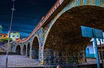 Imagen del puente de Todos los Santos en Cuenca