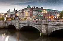 Imagen de puente en Irlanda