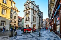 Imagen de ciudad de Praga en República Checa