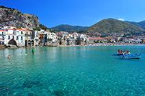 Imagen de la costa siciliana