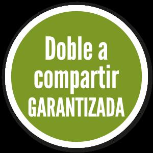 Icono Doble a compartir garantizada